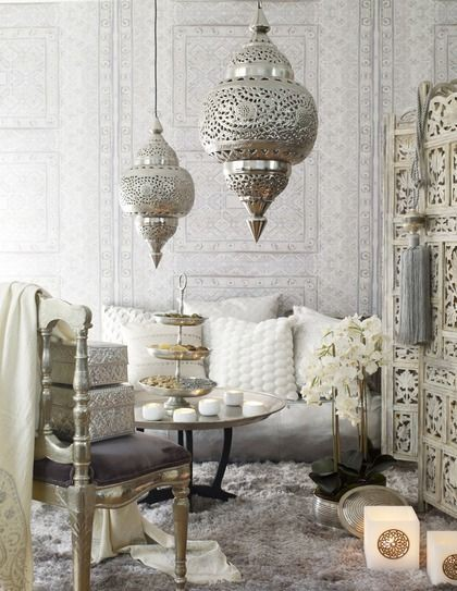 Deco Salon Orientale Chic