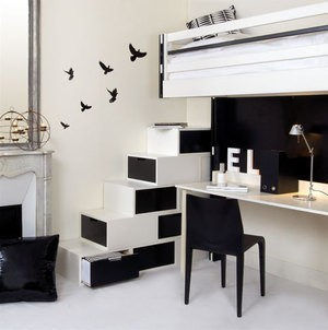 comment meubler un petit appartement tendance multifonction. Black Bedroom Furniture Sets. Home Design Ideas