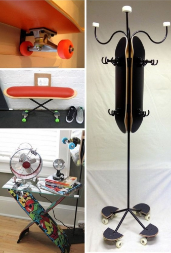 décoration, DIY, skateboard