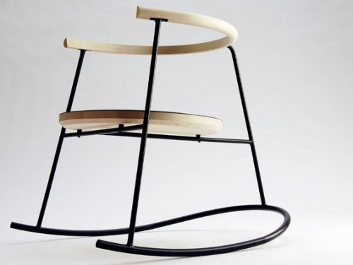 chaise nobu, décoration, design, mobilier, Rocking-chair