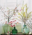 couleurs, décoration, jaunes, nature, pastels, printemps, roses, verts