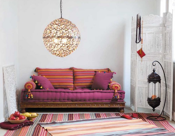 Inspirations marocaines floriane lemari - Decoration arabe maison ...