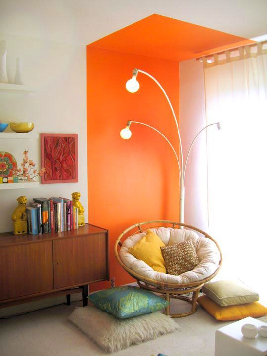 D co maison orange d co sphair for Decoration maison orange