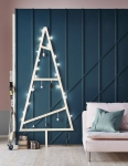 alternatif, décoration, Noël, sapin, tendance