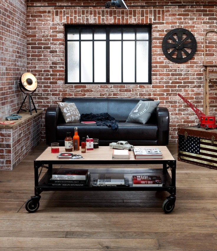 D corat industriel loft industriel d corat style - Decoration loft industriel ...